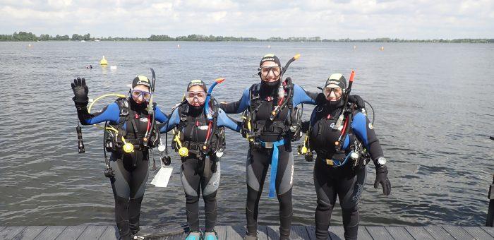 Nieuwe Open Water duikers!