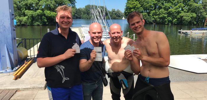 Nieuwe Stress&Rescue duikers!