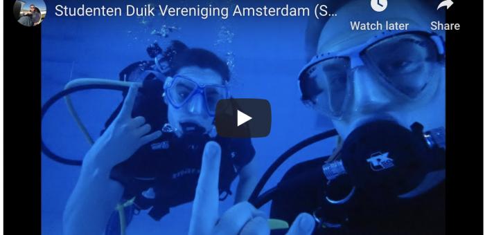 Studenten Duik Vereniging Amsterdam (SDVA) – Intreeweek 2020